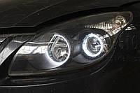"""Hyundai i30 - замена галогенных линз на би-ксеноновые линзы Moonlight Ultimate G5 2,5"""" H1"""