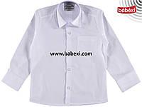 Белая рубашка для мальчика 7 лет 213579