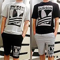 Комплект футболка + шорты Аdidas 554 + 552 (НКН)