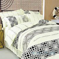 602 Графика (БЕСПЛАТНАЯ ДОСТАВКА) Двуспальное постельное белье ТЕП