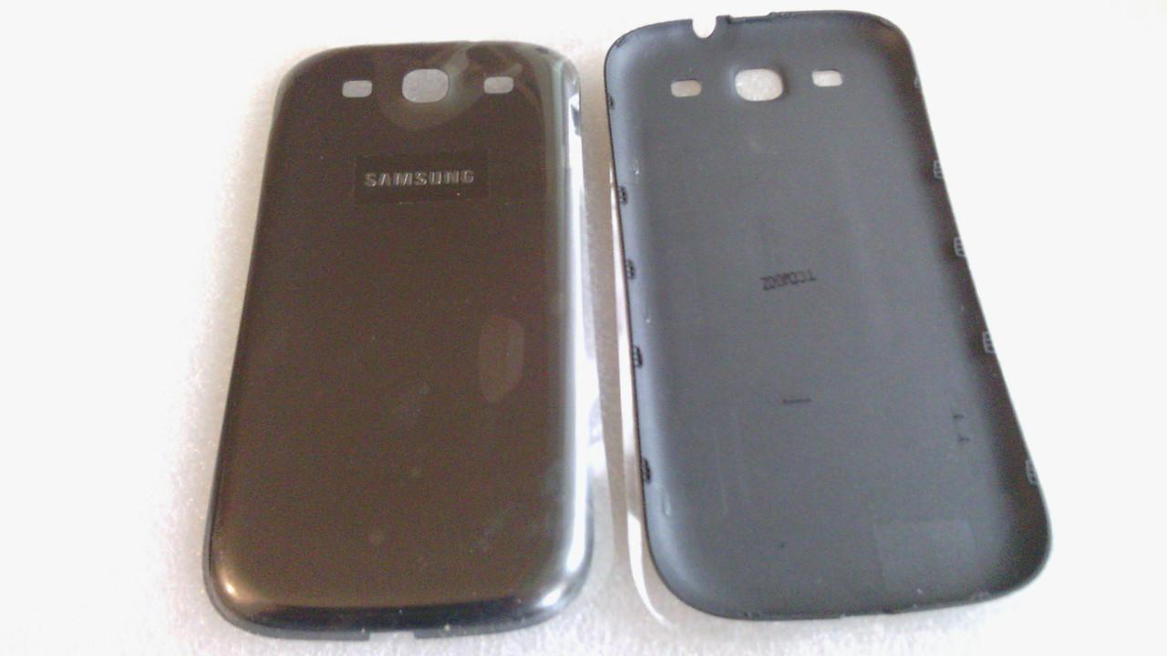 Задняя крышка Samsung I9300 Galaxy SIII Onyx (GH98-23340F) gray Orig