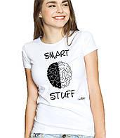 Smart Stuff - Футболка Женская с Дизайном S (44-46)