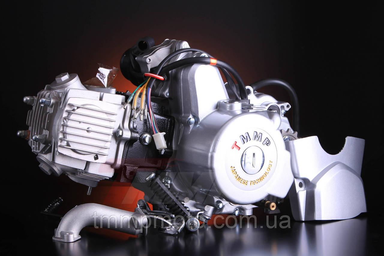 Двигатель  Дельта, Delta/Alpha 125 сс 157 FMH ТММР Racing механическое сцепление , заводской двигатель