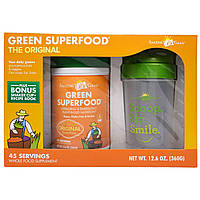 Amazing Grass, Green Superfood, Original, With Bonus Shaker Cup, 12.6 oz (360 g)