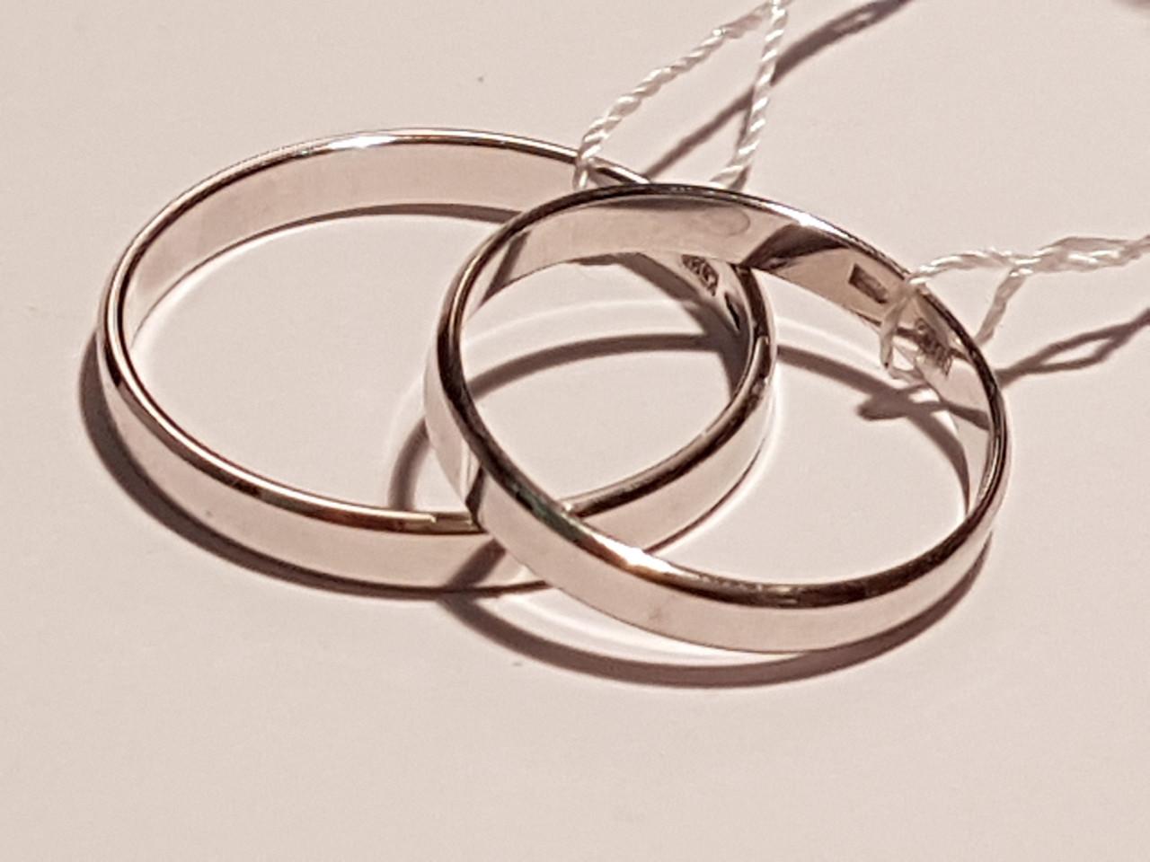 Обручальное золотое кольцо. Артикул ОК015.3Бев 16