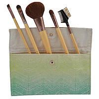 EcoTools, Бамбуковый набор из 6 кистей, 1 набор