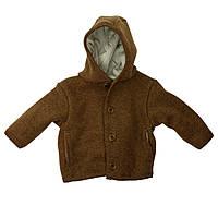 Disana (Германия) Куртка для детей Disana из свалянной шерсти мерино с капюшоном