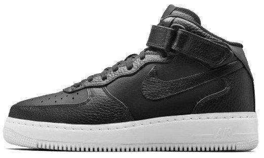 Кроссовки мужские Nike Air Force 1 Black/White, найк аир форс, реплика