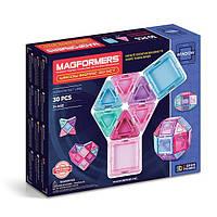 Магнитный конструктор Супер 3Д набор Вдохновение, 30 элементов, Серия Заполненные детали, Magformers