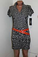 Вязанное короткое платье туника Mymichelle США , С М
