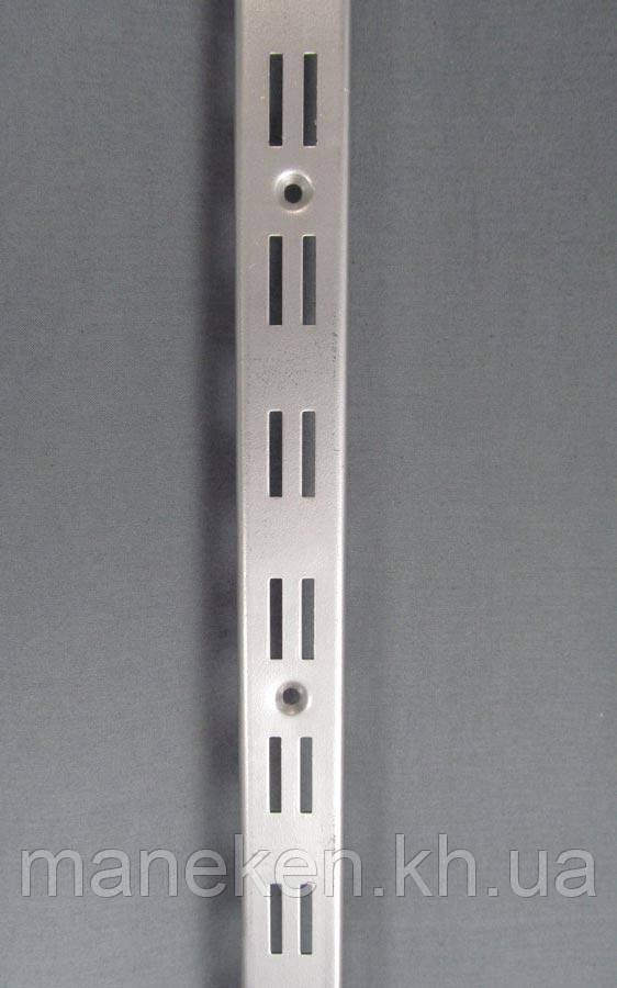Торговое оборудование настенное КRС. Рейка 2-я металлик
