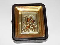 Икона старинная БОГОРОДИЦА 8067