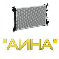 Радиатор охлаждения Nissan Almera Classic 1.6 (06-) АКПП (LRc 141FE) Luzar