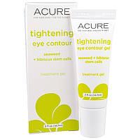 Acure Organics, Разглаживающий кожу крем для контура глаз с экстрактом водорослей и стволовыми клетками гибискуса, 0,5 жидкой унции (14,7 мл)