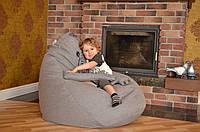 Ждун кресло-груша 120х90 из микро-рогожки