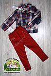 Брюки-джинсы для мальчика темно-синие, фото 4