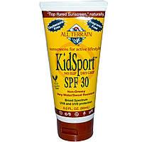 All Terrain, Солнцезащитный крем ДетскийСпорт, SPF 30, без запаха, 3,0 жидких унции (90 мл)