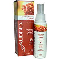 Aubrey Organics, Антивозрастная терапия, тоник для всех типов кожи, 100 мл