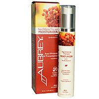 Aubrey Organics, Антивозрастная терапия, увлажняющий крем для всех типов кожи, 50 мл