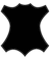 Краска для кожи, замши, нубук 100мл Черный