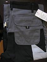 Штаны рабочие  серый+черный