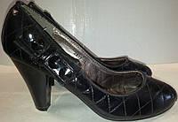 Туфли женские р35 GOLDEN PEAK черные BOGI