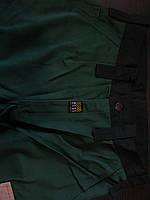 Штаны рабочие  зеленый+черный