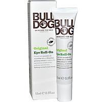Bulldog Skincare For Men, Оригинальный крем для кожи вокруг глаз с роликовым аппликатором, 0,5 жидкой унции (15 мл)