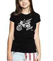 Bike - Футболка Женская с Дизайном M (46-48)
