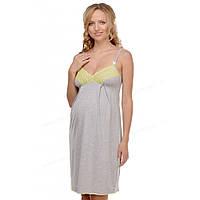 Мамин дом Ночная рубашка для беременных и кормящих Мамин Дом Меланж арт. 25202