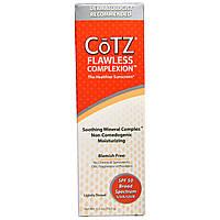 Cotz, Безупречная кожа лица, с легким тоном, фактор защиты SPF 50, 2,5 унции (70 г)
