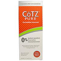 Cotz, Чистый, более полезный для здоровья солнцезащитный крем, фактор защиты SPF 30, 3 унции (85,0 г)