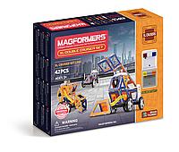 Магнитный конструктор Суперкрейсер, 42 элемента, серия Техника, Magformers