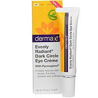 Derma E, Крем с пикногенолом от темных кругов под глазами для сияющего и лучистого взгляда, 1/2 унции (14 г)