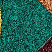 Декоративный щебень цветной бирюзовый
