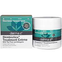 Derma E, Лечебный крем Skinbiotics, 4 унции (113 г)