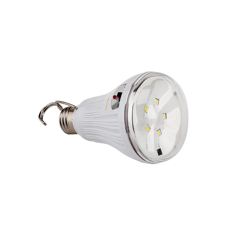 Лампа светодиодная с резервным питанием LogicPower E27 (LP-8205-5R LA) - Фараон-2000 Системы безопасности и видеонаблюдения в Черкассах
