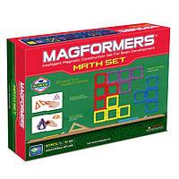 Магнитный конструктор Увлекательная математика, 87 элементов, серия Образование, Magformers