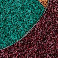 Декоративный щебень цветной бордовый