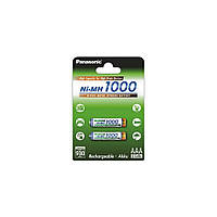 Аккумулятор Panasonic High Capacity  AAA 1000 mAh 2BP  NI-MH (BK-4HGAE/2BE)
