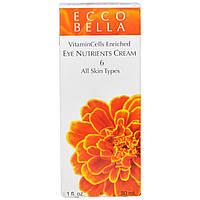 Ecco Bella, Питательный крем для кожи вокруг глаз, 30 мл