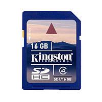 Карта памяти Kingston SDHC 16 GB SD4/16 GB