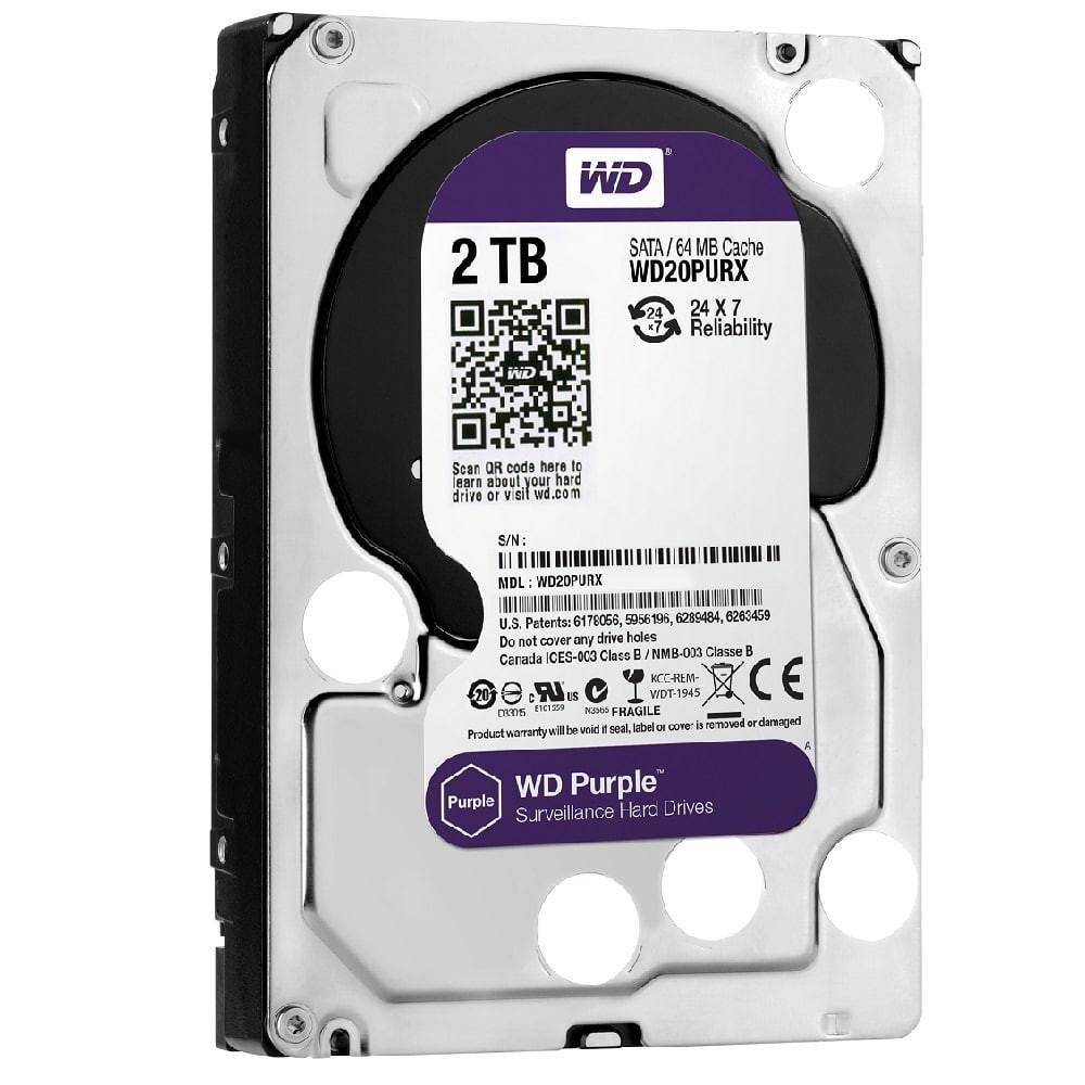 Жорсткий диск WD Purple WD20PURX 3,5 2TB