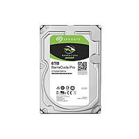 Жесткий диск 3.5 Seagate BarraCuda Pro HDD 6TB 7200rpm 256MB ST6000DM004 SATA III