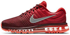 Мужские кроссовки Nike Air Max 2017 Red, найк, айр макс