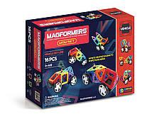 Магнитный конструктор Удивительный набор, 16 элементов, серия Средства передвижения, Magformers