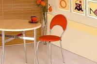 Стул Marino Сhrome Plus ( Марино Хром Плюс барный,кухонный стул) ТМ Новый Стиль