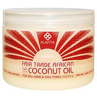Everyday Coconut, Африканское кокосовое масло, На принципах справедливой торговли, 11 унций (312 г)