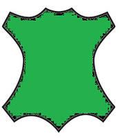 Краска для кожи, замши, нубук 100мл Ярко Зеленый