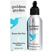 Goddess Garden, Organics, Сотрите день, Минеральное удаляющее чистящее средство, 4 унции (113 г)